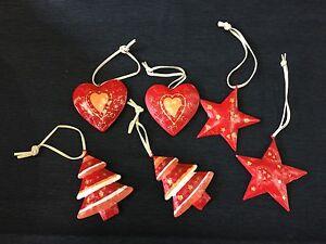 Baumbehang Noël décoration de table étoiles Coeur sapin  </span>