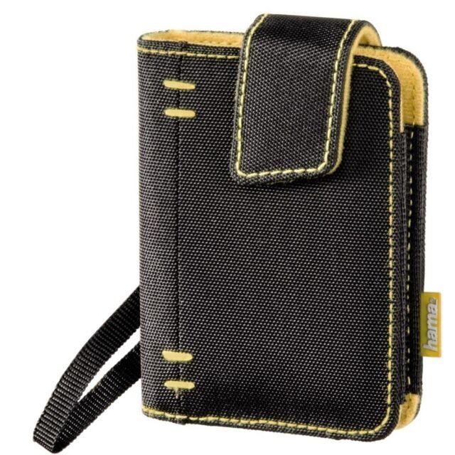 Hama Tasche für Festplatte 4,6 cm 1,8 Zoll, Philadelphia, schwarz/orange, 84494