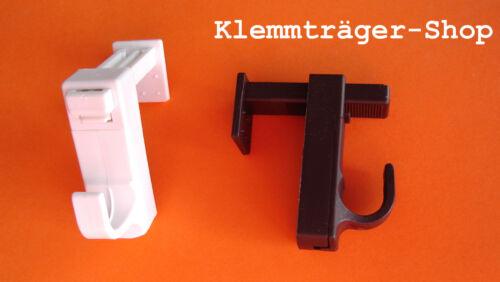 Support Pour Déco Türhaken, Pince Support Pour Rideaux tiges de serrage Crochets