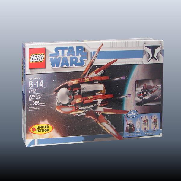 Lego star wars 7752-Le Comte Dooku's Solar Sailer (' 09) - NEUF