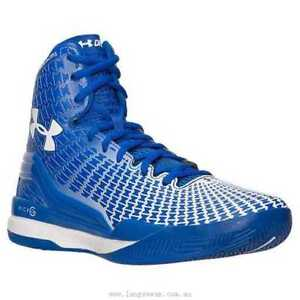3cd5a8750da Image is loading Under-Armour-Clutchfit-Drive-High-Top-Basketball-Royal-