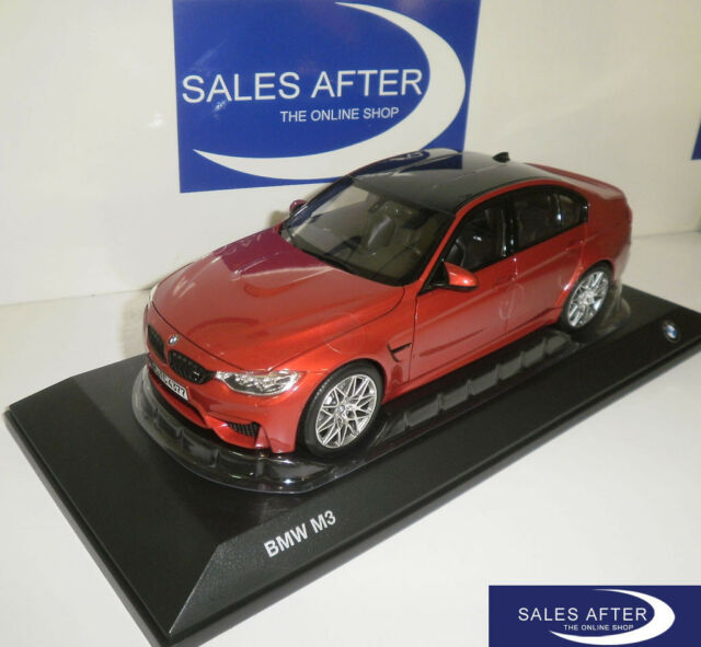 Bmw 3-Series M3 (F80) Competition 2017 Silver NOREV 1:18