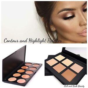 Contour & Highlight Palette Contour Kit Cream Contour Makeup ...