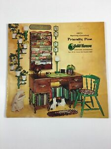Details About Friendly Pine By Yield House Catalog Furniture Cabinets Spring 1971 Vintage