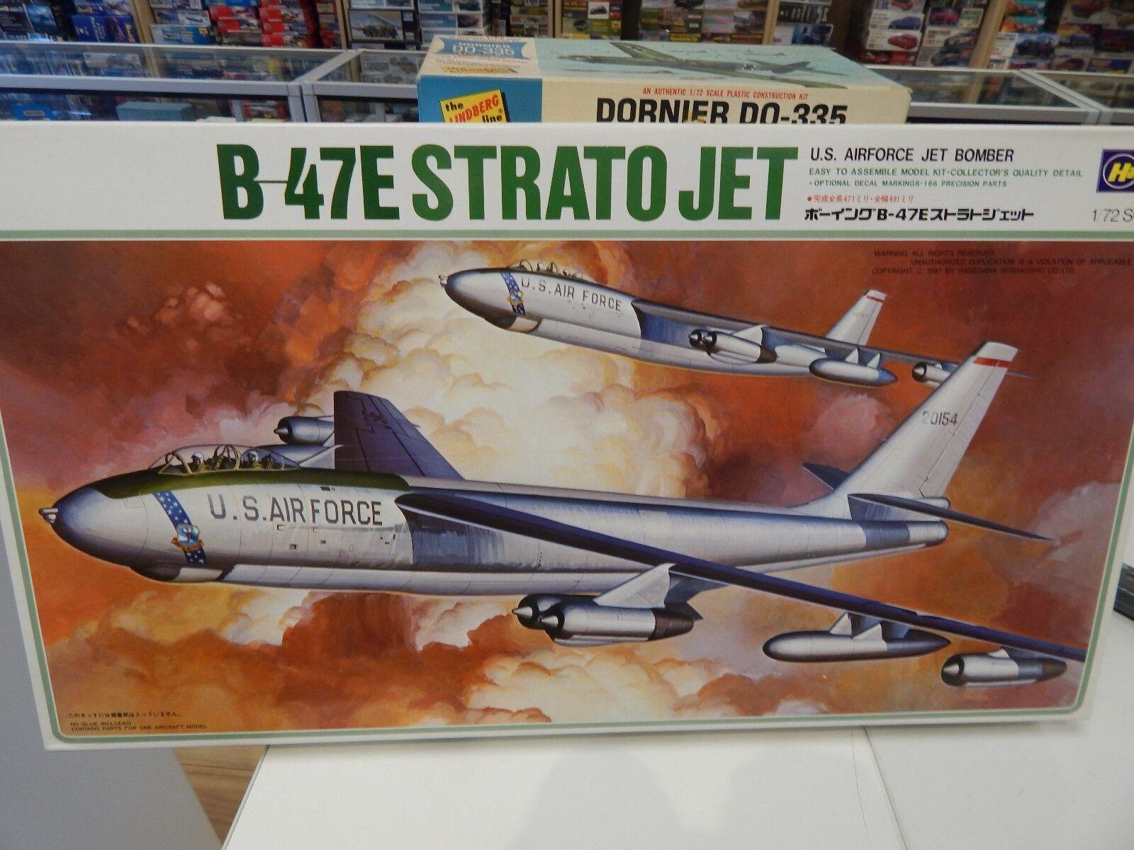 Hasegawa 1 72 SCALE PLASTIC CONSTRUCTION KIT B-47E Strato Jet