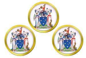 Victoria-Australie-Marqueurs-de-Balles-de-Golf