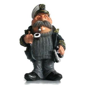Nautical-Sea-Captain-Figurine-Resin-Sailor-Fisherman-Ocean-Ship-Carved