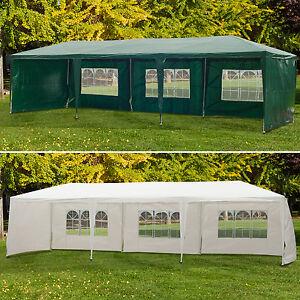 9m x 3m Party Gazebo Canopy Outdoor Tent Garden Patio BBQ