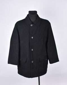 revendeur 6a618 9542c Détails sur Corneliani cc Collection à Chevrons Hommes Veste Laine Manteau  Taille 50 XL