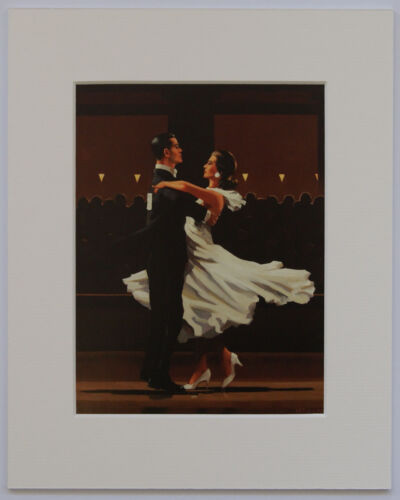 """/'The Dancers Selection/' by Jack Vettriano Set of 5 Mounted Art Prints 10/"""" x 8/"""""""