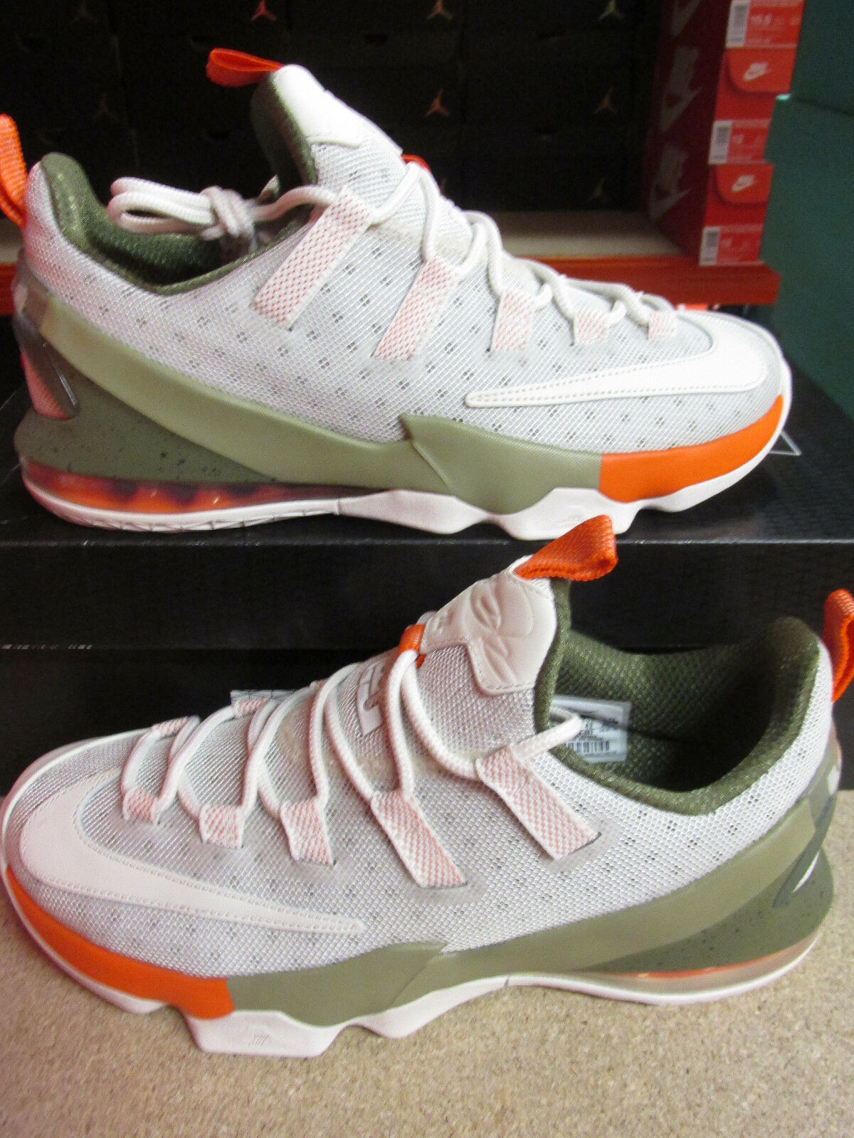 NIke Lebron XIII Low Mens Basketball Trainers 849783 002 Sneakers Shoes