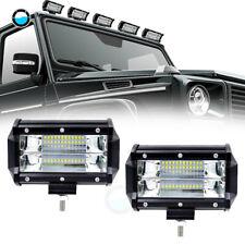 "2X 8/"" 96W LED Combo Spot Work Light Off Road Jeep UTV Boat Tractor Driving Lamp"