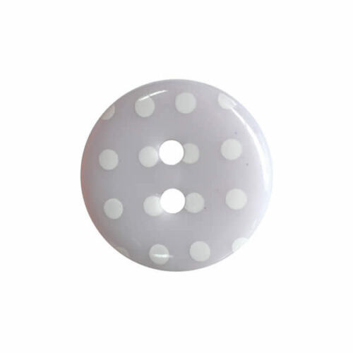 Round Dotty Fine Style Buttons All Sizes Choice Of Colours