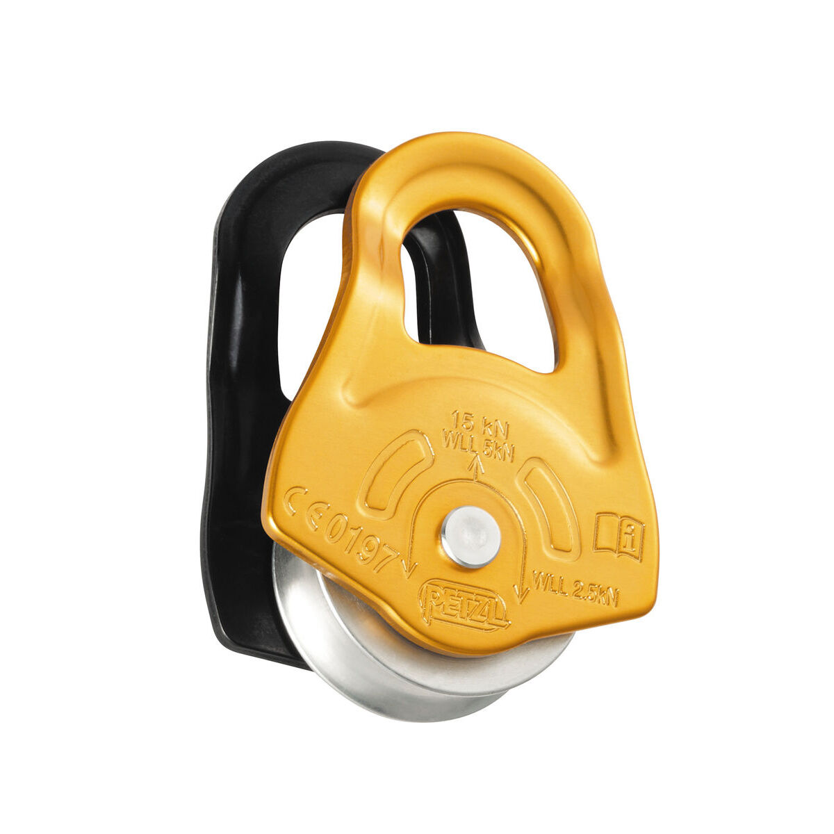 PARTNER PULLEY  Ultra compact high efficiency by PETZL  high quality genuine