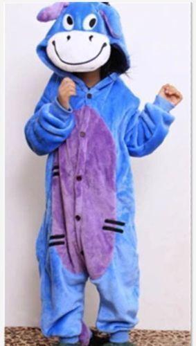 Hot sale!~ kid Pajamas Kigurumi Unisex Cosplay Animals Costume  sleepwear ~