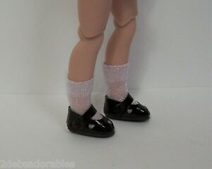"""CREAM Princess Flats Doll Shoes For Tiny 8/"""" Ann Estelle Betsy McCall Debs"""