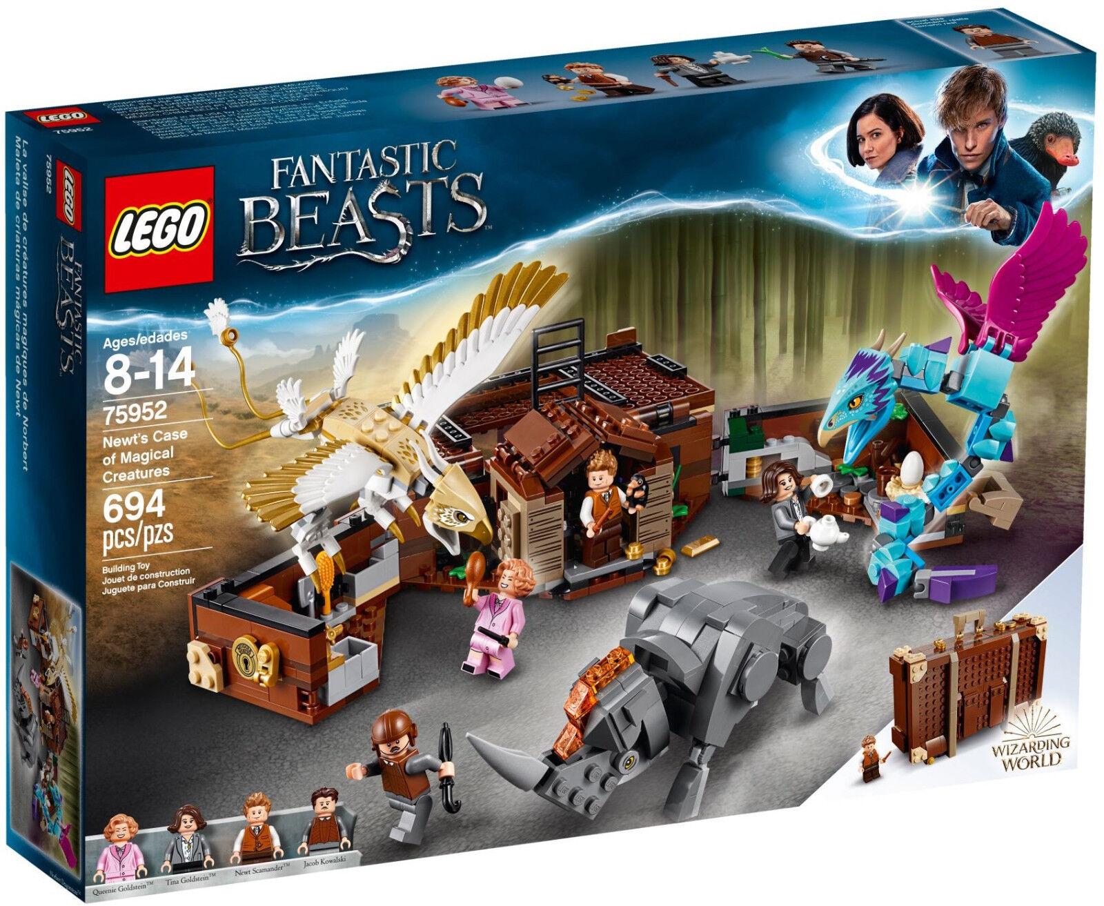 LEGO Fantastic Beasts - 75952 Newts Koffer der magischen Kreaturen - Neu & OVP