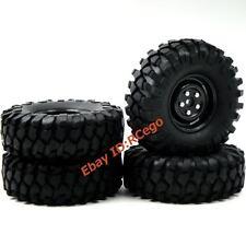 4 Stück 1/10 RC 1.9 Crawler Reifen Tires 108mm Hex 12mm Wheels für RC Crawler