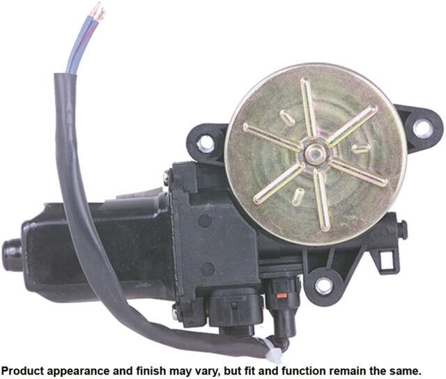 Power Window Motor-2 Door Front Right Cardone Reman Fits