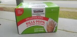 4 packet of Disenfecting wipes KIRKLAND Wipes