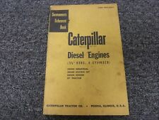 Caterpillar Cat D8800 5 34 Bor 4 Cyl Diesel Engine Shop Service Repair Manual
