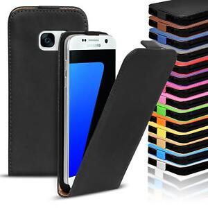 Flip-Case-fur-Samsung-Galaxy-Hulle-Handy-Tasche-Klapphulle-Schutzhulle-Cover
