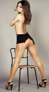 Mila Kunis Straddling A Chair In A Thong Sexy Shot Ebay