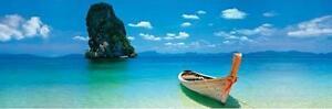 Paesaggi landscapes SLIM LINE POSTER Spiaggia Phuket Thailand 90x30cm