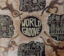 Putumayo Presents: World Groove - Various  (CD 2004) Enhanced CD  VG++ 9/10