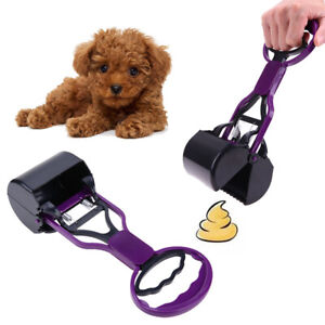 Pet-Cat-Dog-Clean-Pick-Up-Pooper-Scooper-Shovel-Handle-Dispenser-Cleaning-Tool