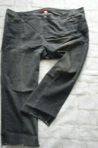 Sheego-Jeans-Trousers-Stretch-Gr-58-Grey-Tone-740-New