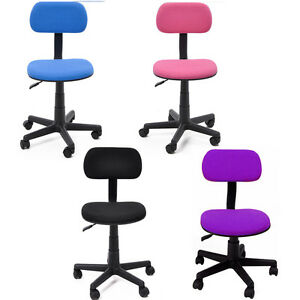 swivel office chairs computer school desk task pc chair adjustable