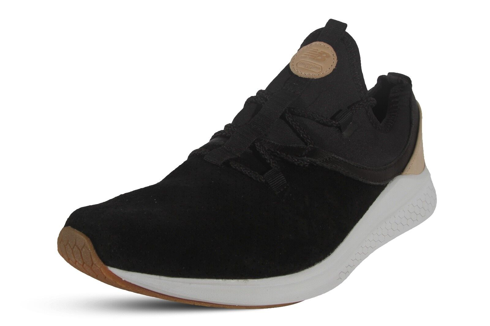 New Balance Men's Shoes Lazer Lux Fresh Foam Running Classic ULAZRLB Black Tan