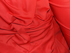 tissu jersey epais type milano  facon neoprene rose 100x140 cm