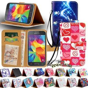 For-Samsung-Galaxy-S-S2-S3-S4-S5-Leather-Smart-Stand-Wallet-Cover-Case
