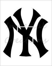 "/""NYR NEW YORK RANGERS 2/"" Hockey Team 8.5/"" x 11/"" Stencil Plastic Sheet NEW S435"