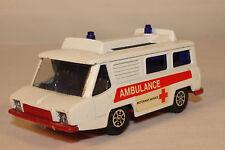 1970'S CORGI WHIZZWHEELS TOYS NO. 700 HI SPEED MOTORWAY SERVICES AMBULANCE