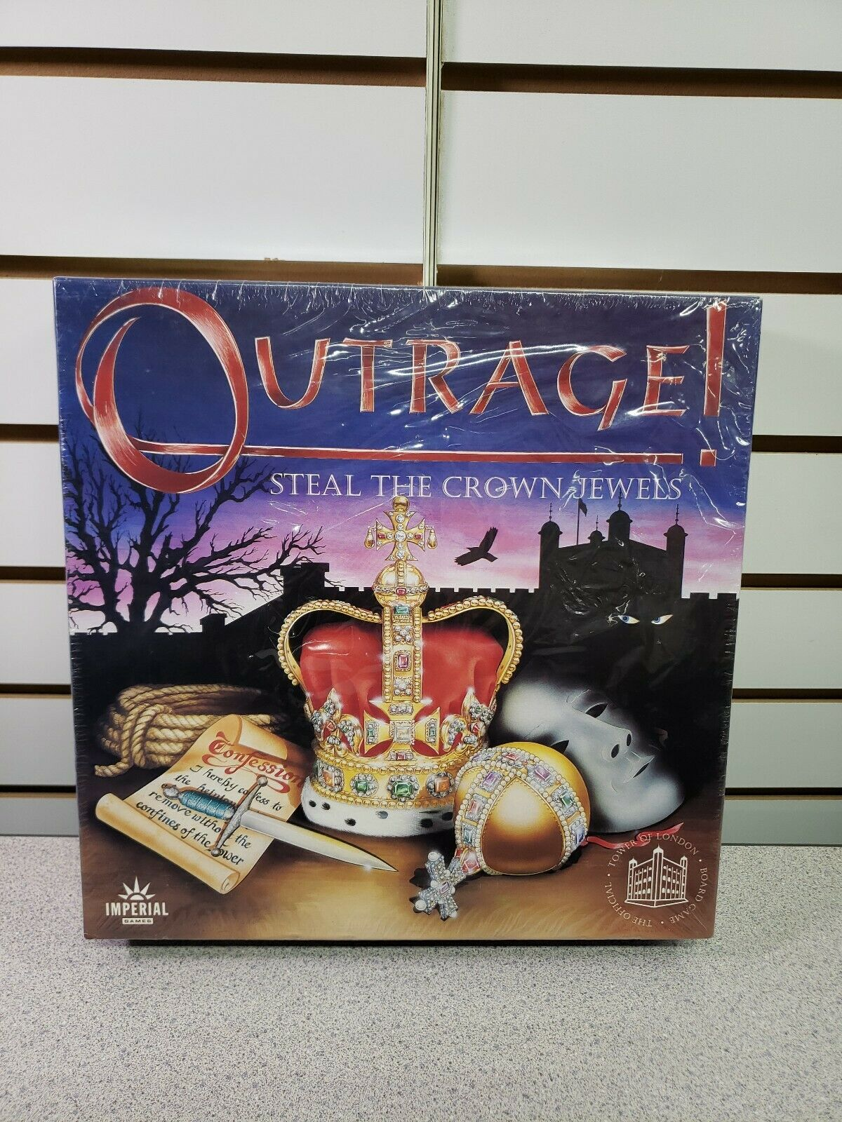 NEW Outrage  Steal the Crown Jewels Impreial Games Great Britain FREE SHIP