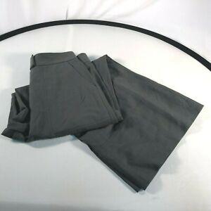 Linen Leg Silk Lewit Green Olive 6 Pants Wide Women's Size C1EqqxwYA