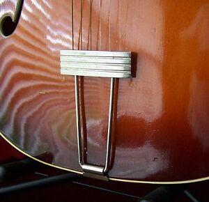 Kay Silvertone Nickel Kluson Guitare Cordier-afficher Le Titre D'origine