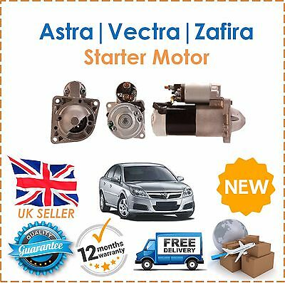 FITS VAUXHALL VECTRA C 1.9 CDTI DIESEL 2004-2008 NEW STARTER MOTOR 16V MANUAL