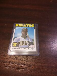 1986 Topps Traded #11T Barry Bonds Pirates Giants RC Rookie Mint