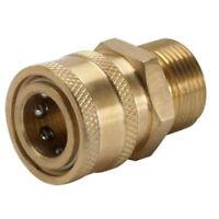 Karcher M22 Male X 3/8 Female Socket Adapter (4000 Psi)