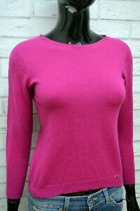 LUISA-SPAGNOLI-M-Maglione-Donna-Maglia-Pullover-Lana-Cardigan-Sweater-Woman