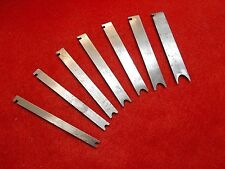 STANLEY NO.45 OR 55 CUTTER SET FINE TO NEAR MINT, No.21 TO NO.27 BEADING CUTTERS