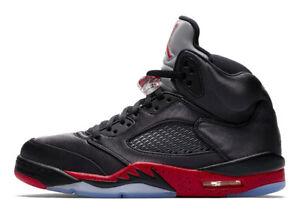 bf0752302a42 Men s Brand New Air Jordan 5 Retro Athletic Fashion Sneakers  136027 ...