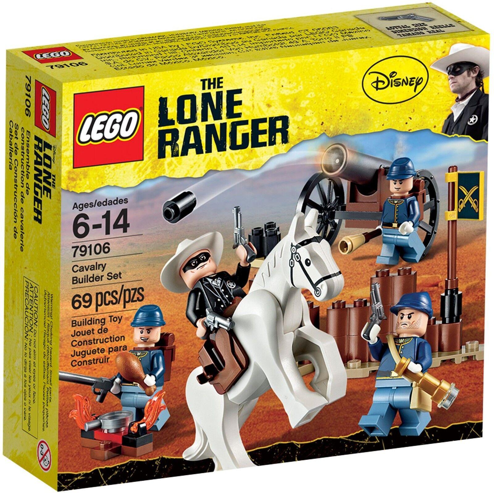 LEGO ® The Lone Ranger 79106 Cavalerie Set Nouveau neuf dans sa boîte _ Cavalry Builder Set New En parfait état, dans sa boîte scellée