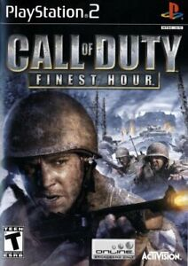 Very-Good-CALL-OF-DUTY-FINEST-HOUR-Sony-PS2