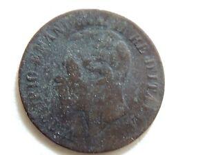 1861-m Italie Deux (2) Centesimi Pièce De Monnaie Golcg2ys-08011644-456992193