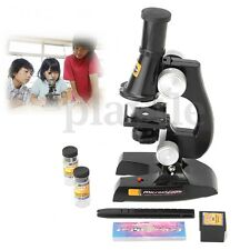 100X- 450X Educational Starter Biological Microscope Kit Lab Toy Kids Students